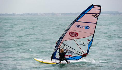 La traversée de l'Atlantique en Windsurf : STEF partenaire de Sarah Hébert
