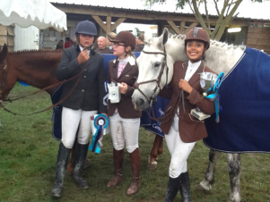 jardin d'hiver se distingue en concours complet d'équitation !