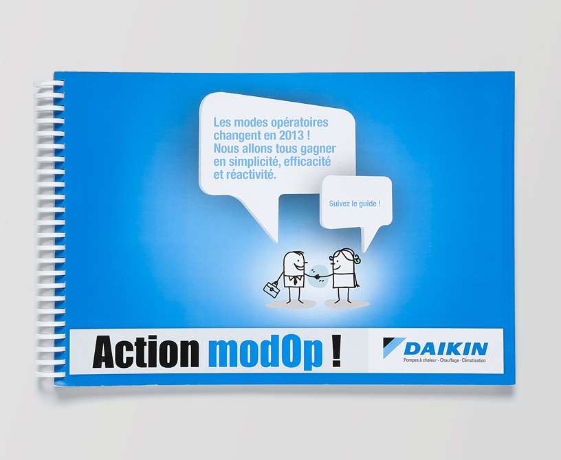 Daikin : un guide pour expliquer le nouveau mode opératoire