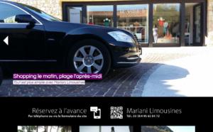 Mariani Limousines : site internet de voiture de luxe avec chauffeur