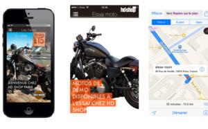 Application Harley-Davidson Iphone Androïd